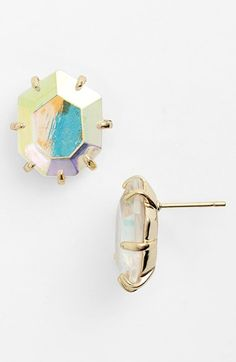 Kendra Scott // Morgan Stud Iridescent Stud Earrings