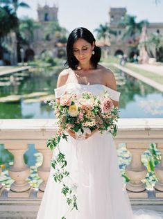 Fancy Southern Wedding Inspiration at Balboa Park in San Diego – iamlatreuo Photo 47 Southern Wedding Inspiration, Garden Wedding Inspiration, Wedding Gowns, Wedding Day, Mini Wedding Cakes, Unity Ceremony, French Girl Style, Real Couples, Wedding Trends