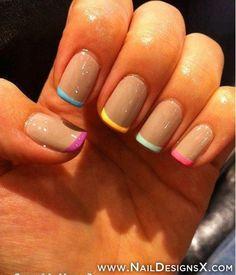 nature nail art