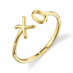 Starling Jewelry X O Ring
