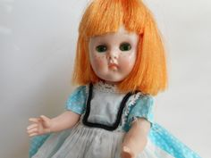 Vintage Vogue Wee Imp Ginny Doll w/ Original Dress Very Sweet BKW #USEDBUTGOODCONDITION