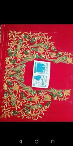 Imroz blouse designer 8096946242 Cutwork Blouse Designs, Wedding Saree Blouse Designs, Pattu Saree Blouse Designs, Blouse Neck Designs, Embroidery Works, Hand Embroidery Designs, Maggam Work Designs, Hand Work Blouse Design, Fancy