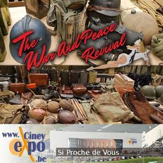 The War and Peace team are on route to Ciney in Belgium promoting The War and Peace Revival 2017. #WAP #Ciney #Belgium #Militaria #stalls #promote #celebration #military #vintage #ww1 #ww2