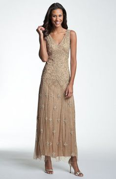 Vintage Mother of the Bride dress | Nordstrom. Too bad it doesn't come in a color I can use. This is so pretty.