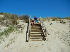 Marion Bay sand dune steps