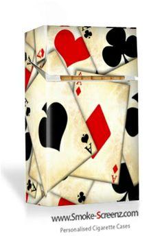 Pre designed cigarette case
