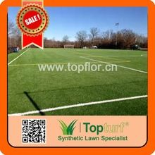 Topflor Bicolor Football Artificial Grass Diamond Shape Tencate Thiolon Soccer Grass