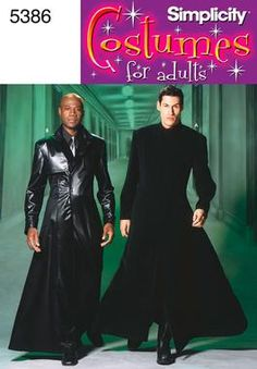 Mens Costumes Costume Sewing Pattern 5386 Simplicity