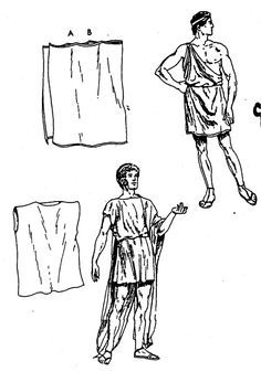how to make ancient greek costume men ile ilgili görsel sonucu