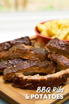 This summertime Ribs recipe pairs perfectly with salted potatoes for a complete meal. Invite friends over or keep them all for yourself for the this perfect summer grilling meal. #FoodLion