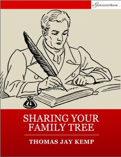 Looking to share your genealogy for the holidays?  Find out how in this FREE eBook!
