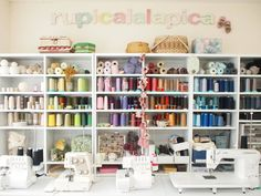 rupicalalapica sewing room