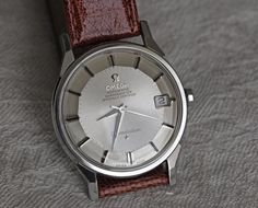 Vintage Omega Constellation Pie-Pan #Omega #Constellation #Watches #Menswear #womw - omegaforums.net