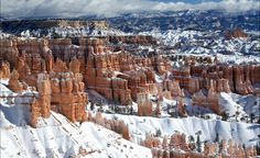Winter in Bryce Canyon NP