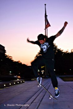 WASHINGTON DC: Skateboarder at Dusk by LShanksPhotography on Etsy https://www.etsy.com/listing/216595496/washington-dc-skateboarder-at-dusk