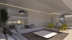 Proyecto: Apartamento en Javea. Primeros apuntes. Diseño: Ramón Bandrés #luxurylifestyle #luxuryhouse #apartamentoenjavea #diseño #interiordesign #ibiza