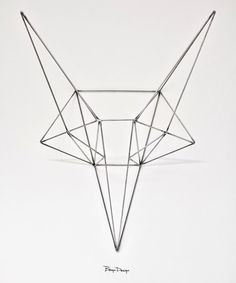 steel fox art. i enjoy this simple line work.