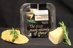 Rosemary Parmesan Crisps Click to Enlarge