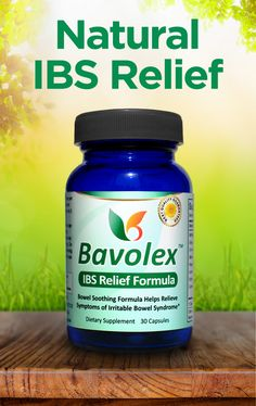 All-Natural IBS Treatment - Bavolex: Relief for IBS #remedies #medicine #followback #irritablebowelsyndrome #ibs