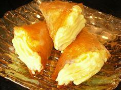 Authentic Greek Recipes: Greek Panorama Triangles (Trigona tou Panoramatos)
