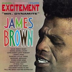 James Brown - Mr. Dynamite 180g Vinyl LP January 27 2017 Pre-order