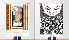 carteles de presentación de mis exposiciones de arte.