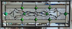 """Stained Glass Window Hanging 12 X 30"""" #StevesCustomStainedGlass"""