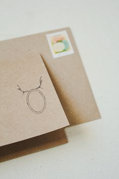 """Items similar to Mounted Rubber Stamp // scrapbooking stamp // wooden stamp // cardmaking // scrapbooking stamp // stationery stamp // """"antlers"""" on Etsy"""