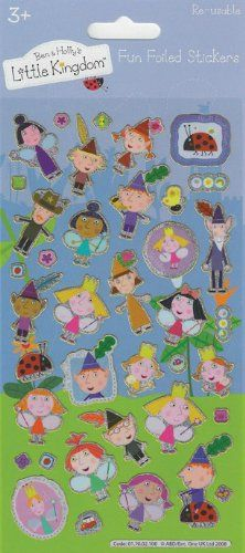 Birthday Xmas Christmas Gift BEN /& HOLLY/'S LITTLE KINGDOM Fun Foil Stickers