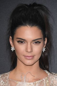 Daily beauty muse || Kendall Jenner's healthy glow, as seen at the Chopard party in Cannes last night, was no doubt testimony to Estée Lauder's up-and-coming The Edit range, of which she is the face. The model's hair looked lusciously thick in a high, textured ponytail. For a quick-fix solution, use a volumising spray. Bumble and Bumble's Full Potential Booster Spray, £38, does the hard work for you. Spray it onto your roots for instantly denser hair with texture.