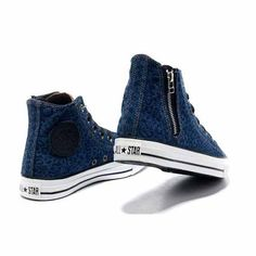 watch 1f366 b2867 2013 Blue Converse Leopard All Star Canvas Zipper High Tops Womens Sneakers  womens nike shoes for cheap
