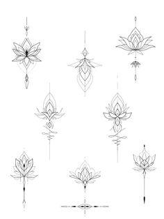 Lotusblume Tattoo, Chest Tattoo, Mandala Tattoo, Floral Thigh Tattoos, Forearm Tattoos, Body Art Tattoos, Mini Tattoos, Cute Tattoos, Small Tattoos