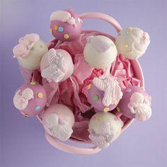 Molly Bakes baby cake pops