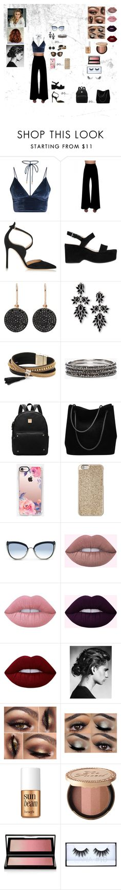 """""""Untitled #16"""" by meaghanashleyy on Polyvore featuring GCGme, Gianvito Rossi, Marc Jacobs, Astley Clarke, Fallon, Simons, Chico's, Gucci, Casetify and Michael Kors"""