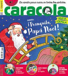Caracola, la revista para crecer en todos los sentidos. N. 320 (dec. 2017-xan 2018)