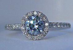 OOH! Pretty! Takara Blue Diamond Ring