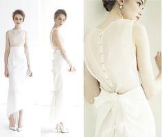 Katie Ermilio wedding dress