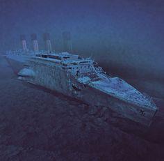 Underwater Images Of The Titanic Titanic Ship Sinking, Titanic Wreck, Rms Titanic, Boat Wallpaper, Titanic Artifacts, Underwater Images, Underwater Wallpaper, Titanic History, Bottom Of The Ocean
