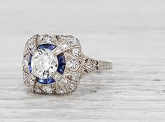 .85 Carat Edwardian Ring