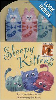 Sleepy Kittens (Despicable Me): Cinco Paul, Ken Daurio, Eric Guillon: 9780316083812: Amazon.com: Books