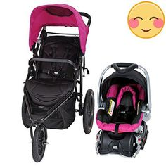 The #Baby Trend Stealth Jogger Travel System has it all! Designed with style, safety features and ease-of-use functions, this sporty Jogger guarantees a smooth r...