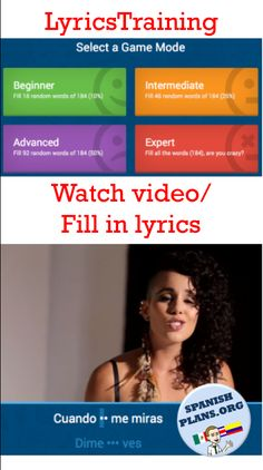 Learn how to use official music videos to create your own online cloze activities for students to practice their Spanish while listening to fun and authentic songs!
