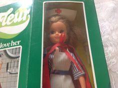 Rare 1980's NurseFLEUR ,Dutch Sindy look-a-likedoll,Otto Simon | eBay