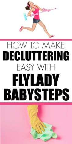 How to get started decluttering and cleaning your home with Flylady. Easy babysteps to get you started with getting your house under control. Flylady, Window Cleaning Tips, Cleaning Hacks, Zone Cleaning, Cleaning Room, Deep Cleaning, Fly Lady Cleaning, Getting Rid Of Clutter, Clutter Organization