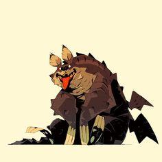 Fantasy Drawings, Fantasy Artwork, Creature Concept Art, Creature Design, Character Concept, Character Art, Character Reference, Animal Fashion, Character Design Inspiration