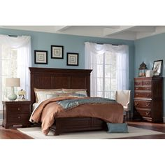 Evelyn 6-piece Cal King Bedroom Set | All things FURNITURE ...