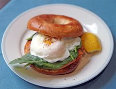 Smoked salmon, spinach and poached egg bagel13/01/2015 By Richard Bewley Leave a Comment