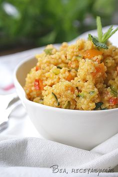 Food N, Food And Drink, Quinoa, Small Meals, Risotto, Tapas, Pasta, Healthy Living, Vegan Recipes