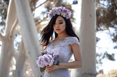 Lilac and lace