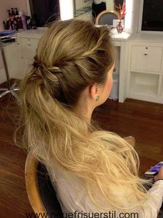 Try This Pretty  Sophisticated French Fishtail Braid   Beautiful You     Lange Gewellte Frisur